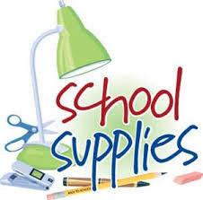 Click this link for a supply list for most departments